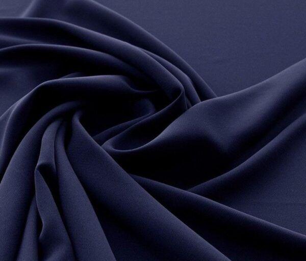 escuba creppe azul oscuro